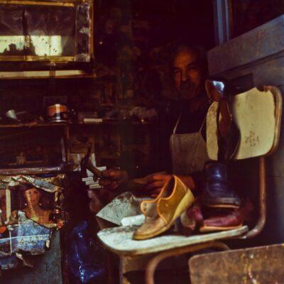Miniwerkstatt Schuhmacher – Korfu, Kerkira – März 1984
