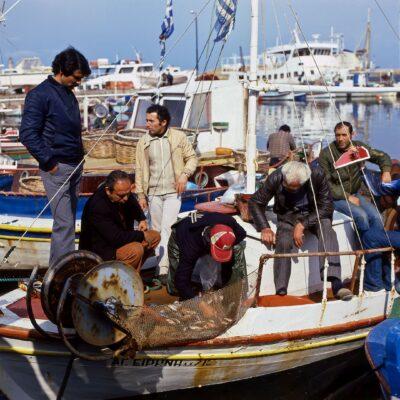 Rückkehr der Fischer – Kreta, Heraklion – März 1984