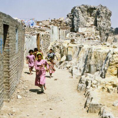 Grosse Eile für ein Foto – Ägypten, Kairo – April 1984