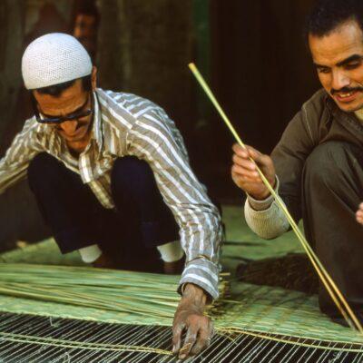 Strohmattenweber – Ägypten, Altkairo – April 1984