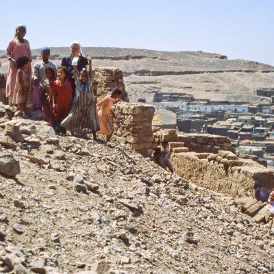 Wir werden begutachtet – Ägypten, Assuan – Mai 1984