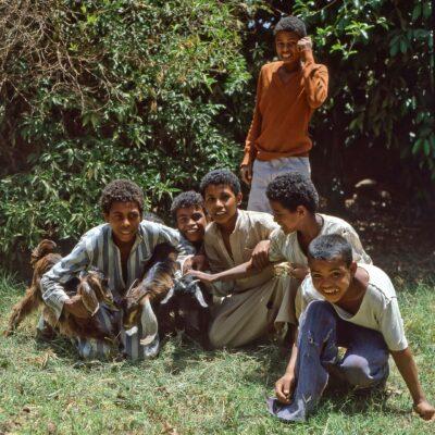 Lockerheit oder Verantwortung – Ägypten, Assuan – Mai 1984