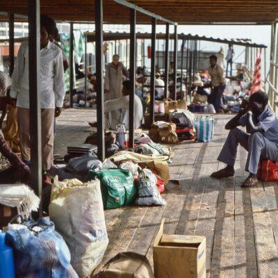 Schifffahrt von Ägypten nach Sudan – Ägypten, Lake Nasser – Mai 1984