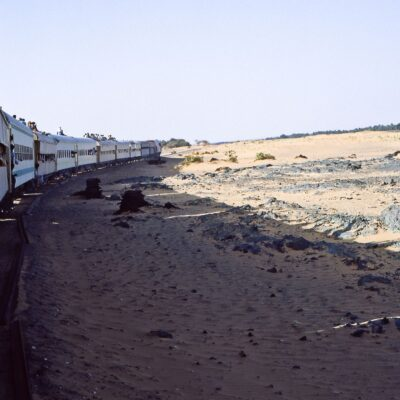 Zugfahrt durch die Wüste – Sudan, Wadi Halfa bis Khartum – Mai 1984