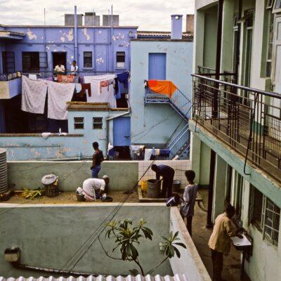 Das Leben findet draußen statt – Kenia, Nairobi – Juni 1984