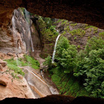 Wo Wasserfälle sich treffen - Ofenloch, Neckerquelle - 12. Juni 2007