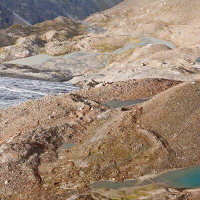 Vernetzte Wasserlandschaft – Gletschervorfeld Silvretta – 27. August 2007