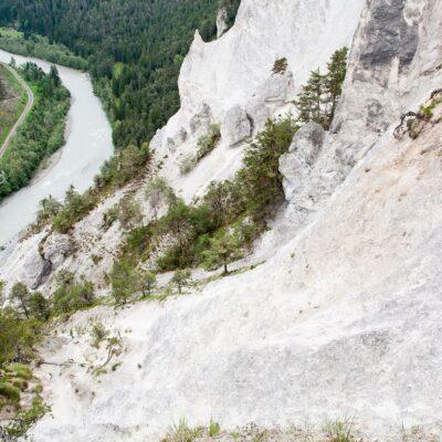 Weg über drei Tobel – Ruin Aulta – 25. Mai 2007