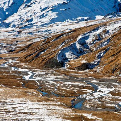 Erster Schneefall zaubert ein Weiß – Greina – 2. November 2007