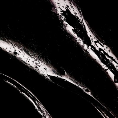 Weiß-schwarzes Mysterium - Morteratschgletscher - 9. Januar 2010