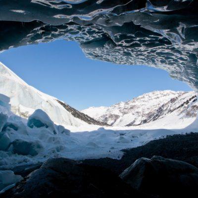 Überhängende Eiswände - Morteratschgletscher - 3. März 2013