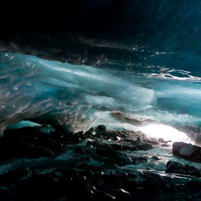 Herrschaft des Wassers - Roseggletscher - 16. August 2014