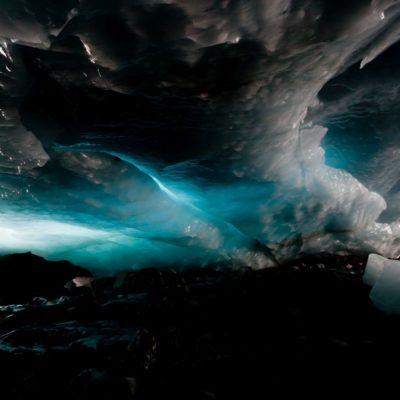Eisdecke in Bewegung - Roseggletscher - 21. August 2014