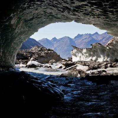 Höhlengrund unter Wasser - Langgletscher - 22. Oktober 2018