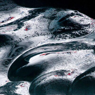 Belebte Tallandschaft – Morteratschgletscher – 9. Januar 2010