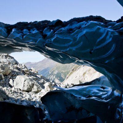 Tiefes Blau – Zinalgletscher – 3. September 2019