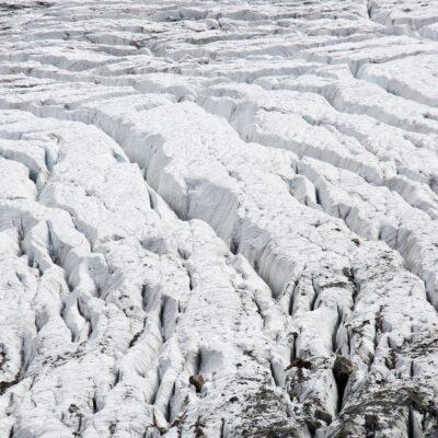 Parallele Eisspalten-Kurven – Morteratschgletscher – 6. Oktober 2019