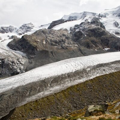 Massiver Verlust an Eisdicke – Morteratschgletscher – 6. Oktober 2019