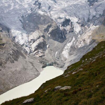 Letzte Verbindung zum aktiven Gletscher – Roseggletscher – 20. Juli 2007