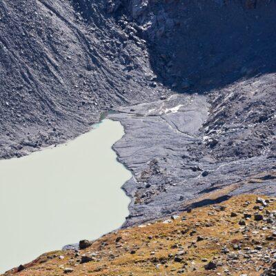 Eisfreie Zone – Roseggletscher – 11. Oktober 2019