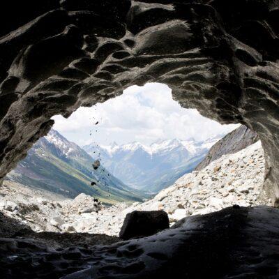 Steinschlag von der Eiskante – Langgletscher – 24. Juni 2020