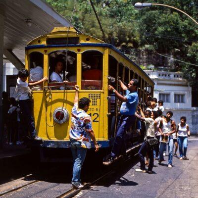 Straßenbahn Santa Teresa – Brasilien, Rio de Janeiro – Oktober 1984