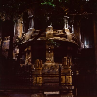 Märchenhaft schöner Erker – Brasilien, Rio de Janeiro – Oktober 1984