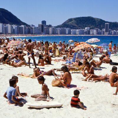 Mit nichts entspannen an der Copacabana – Brasilien, Rio de Janeiro – Oktober 1984