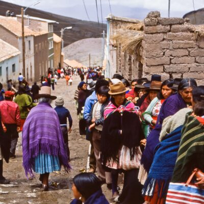 Geduldiges Anstehen – Bolivien, Potosi – November 1984
