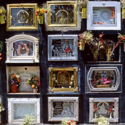 Nach dem Tod erhält jeder gleich viel Raum – Peru, Puno – Dezember 1984