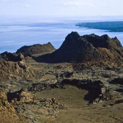 Karge Vulkanlandschaft – Galapagos, Insel Bartolomé – Februar 1985
