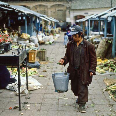 Viel Arbeit, wenig Verdienst – Ecuador, Otavalo – März 1985