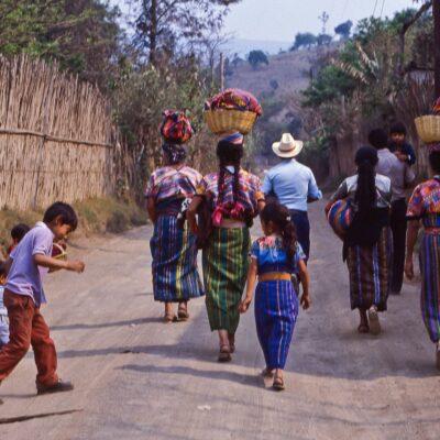 Traditionelle Arbeitsteilung – Guatemala, Cruz San Antonio – Mai 1985