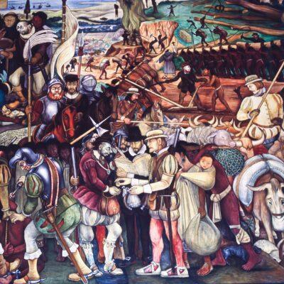 Die Geschichte von Mexiko, dritter Ausschnitt – Mexiko, Mexiko Stadt – Juni 1985