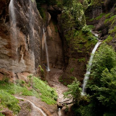 Wasserfälle reihum - Ofenloch, Neckerquelle - 12. Juni 2007