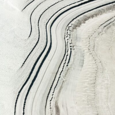 Stufen im Sandschlick – Morteratschgletscher – 23. September 2006