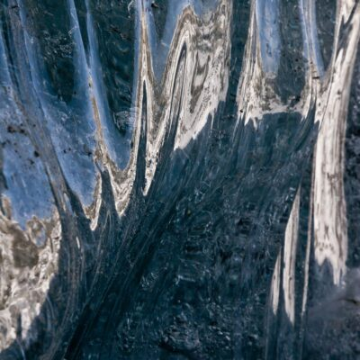 Eis repräsentiert die Umgebungsfarben – Morteratschgletscher – 20. November 2009